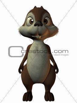 Toon Squirrel