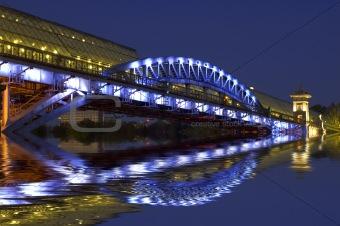 Bridge and water