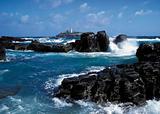 rocks lighthouse