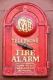 Rustic fire alarm