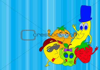 Fruits Cartoon