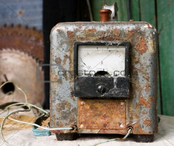 Old Soviet voltage stabilizer