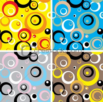 seventies circles multi