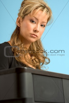 By piano portrait