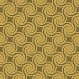 golden swirl pattern