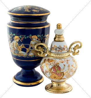 Greek amphoras