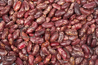 Background of raw beans