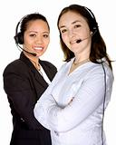 diverse customer service partners