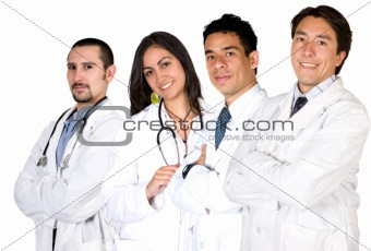 team of doctors and nurses