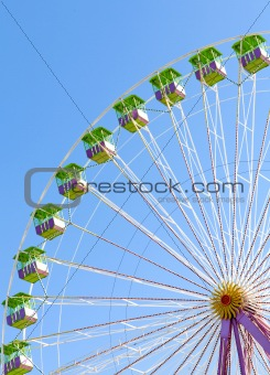 chicago wheel at funfair
