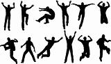 12 Male Jumping Poses