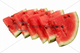 Fresh and Juicy Watermelon Slices