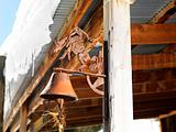 Rusted bell.