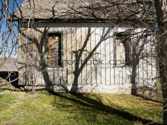 Old rundown building.