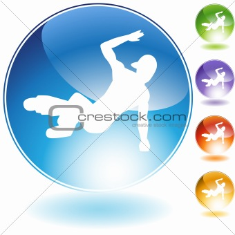 Breakdancer Crystal Icon