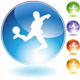 Soccer Crystal Icon