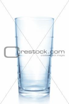 Clean empty glass