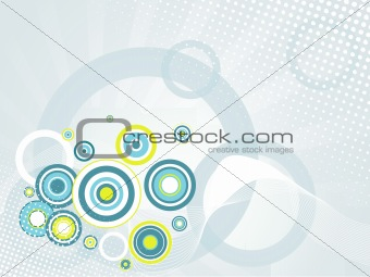 background with abstract pattern illustration