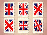 UK Flag Stamp
