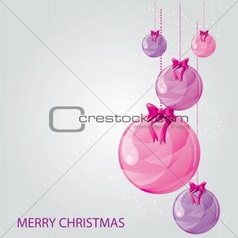 Modern, Pretty Christmas Card