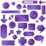Label Set - Purple