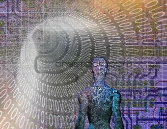 Binary Abstract with Figure
