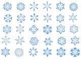 Classic Snowflakes #1