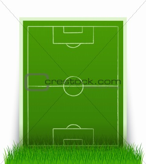 green soccer field in the grass