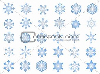 Classic Snowflakes #2
