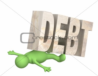 Hostage of the debt