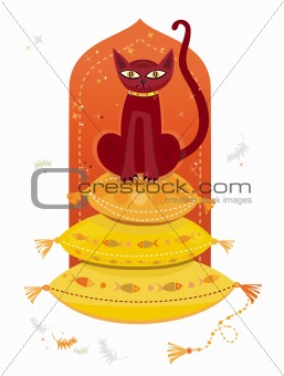 Arabic cat.