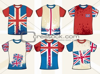 Grunge english t-shirt design