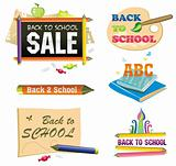 Back to school - icon set 1