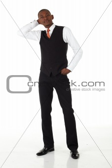 Black African Businessman