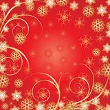 Beautiful Red Christmas background
