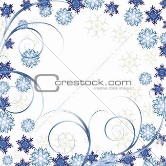 Beautiful White Christmas background