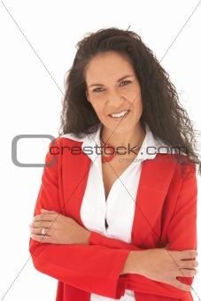Beautiful Caucasian businesswoman