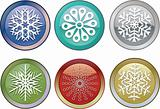 snowflakes icons