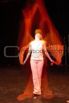 Dancer on Stage