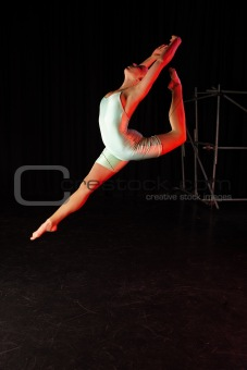 Dancer on Stage