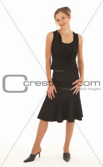 Adult caucasian woman