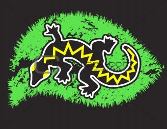 Black gecko