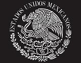 Mexican flag shield