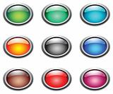 Oval color buttons.