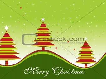 background with xmas tree