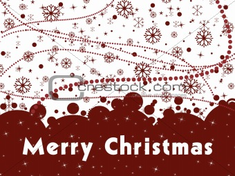background for merry christmas day