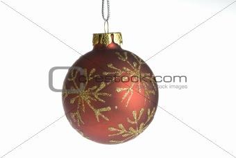 Christmas ball isolated