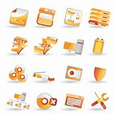 16 Detailed Internet Icons