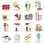 Construction and Building Vector Icon Se