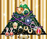 Jewelry Christmas Tree 1
